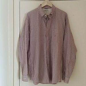 Nautica Vintage Men Shirt XL 100%Cotton